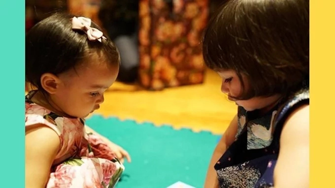 Cuteness Overload! Scarlet Snow and Baby Zia Meets