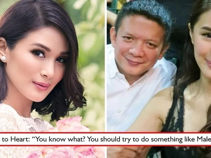 Okay lang si senador? Heart Evangelista reveals husband Chiz Escudero dreams of her to star in a steamy film just like 'Malena'