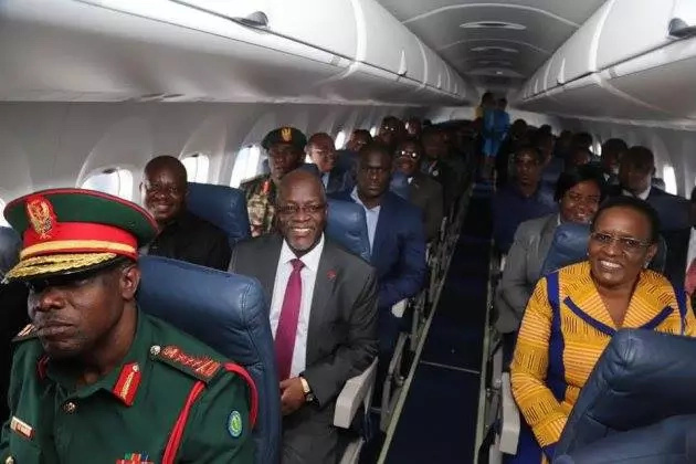 Social media misinterprets President Magufuli's Photos