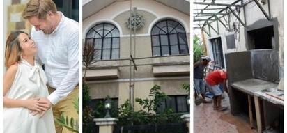 Pinaganda ang bahay para kay baby! Pokwang gets her luxurious house under renovation before she giving birth