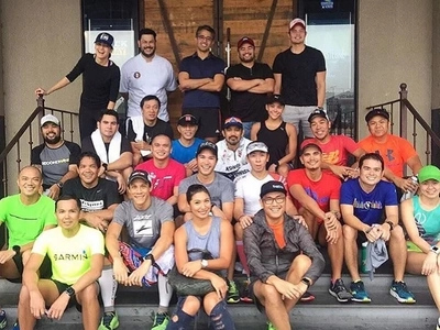 Find out which celebrities attended Kuya Kim Atienza's birthday run