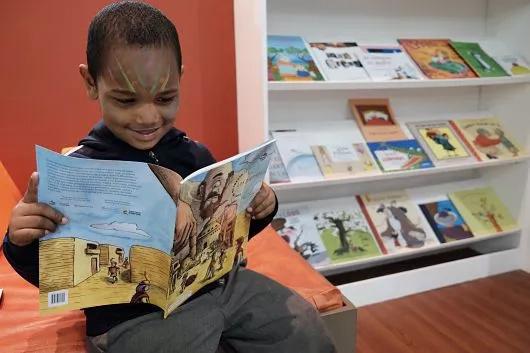 Más libros infantiles para las bibliotecas públicas del país