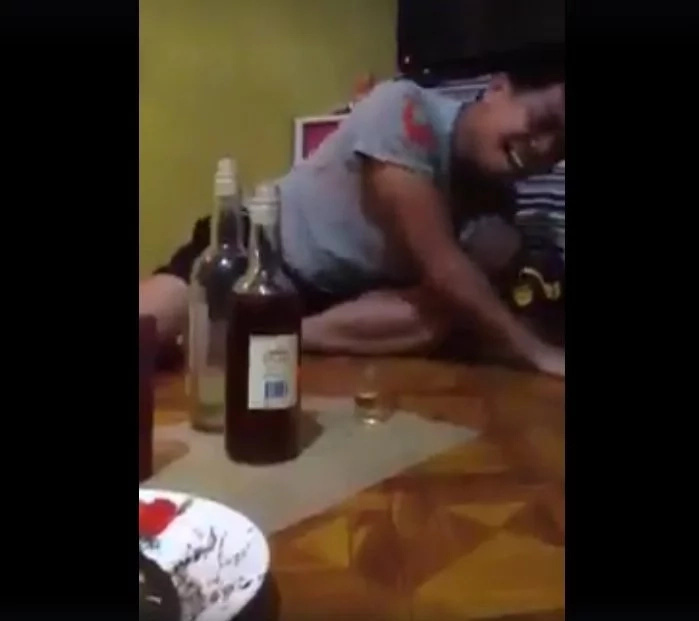 Drunk Pinoy shares heartache in viral Facebook video