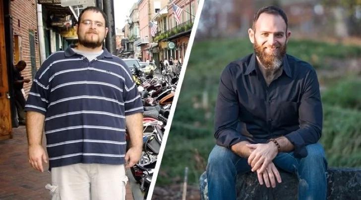 ¡Logró bajar 70 kilos! Él enseña el secreto para bajar de peso