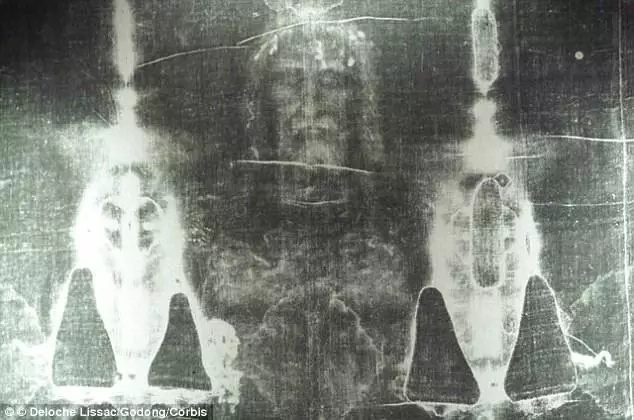 The Shroud of Turin, which some believe was used to bury Jesus. Photo: Deloche Lisaac/Gedong/Corbis