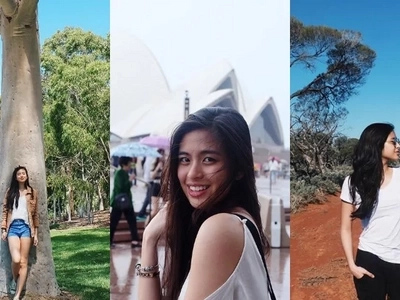 Gabbi Garcia is having a wonderful time in Australia. These photos speak for themselves!