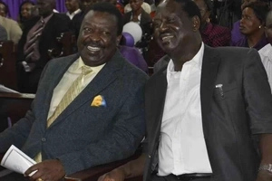 After Raila talked about stepping down, Mudavadi reveals what will make him join CORD