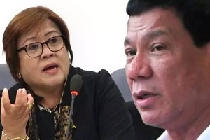 De Lima on Duterte's allegations: There's a bit truth but, mostly exaggerations