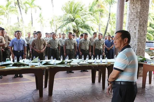 Emotional Binay bids goodbye to security group