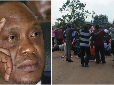 Barely a day to his Kisii tour, Uhuru Kenyatta issued a THREAT