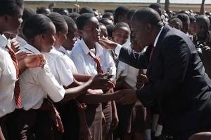 After giving birth to twins, KCSE candidate surprises Matiang'i