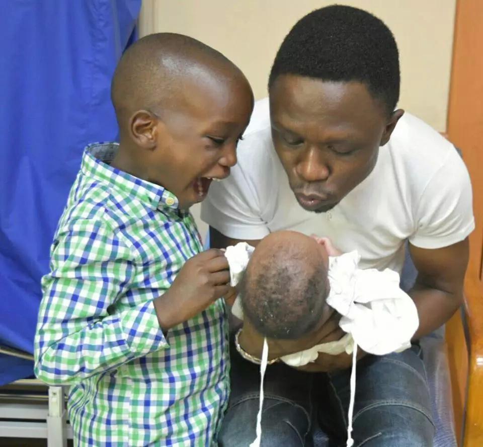 Ababu Namwamba's wife showers him with praise