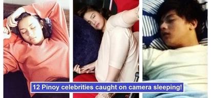 Nakakapagod maging artista! 12 Kapamilya stars who were caught on camera sleeping while taking a break