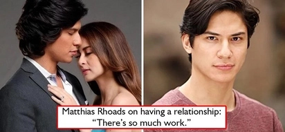 Ayoko ng commitment! Marian Rivera's leading man Matthias Rhoads prefer to be single than to have a girlfriend, 'It takes so much work.'