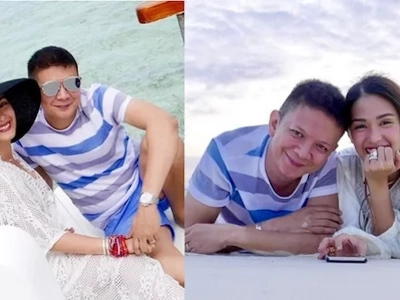 Heart and Chiz Escudero enjoy a luxurious vacation at the beach