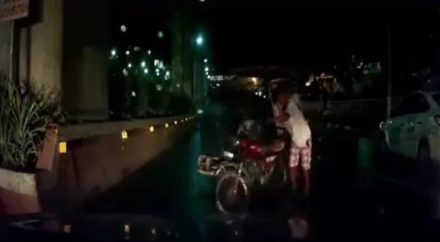 VIDEO: Tricycle driver hits taxi, footage went viral