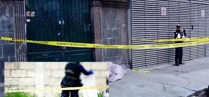 Abuelo murió congelado en las calles de México
