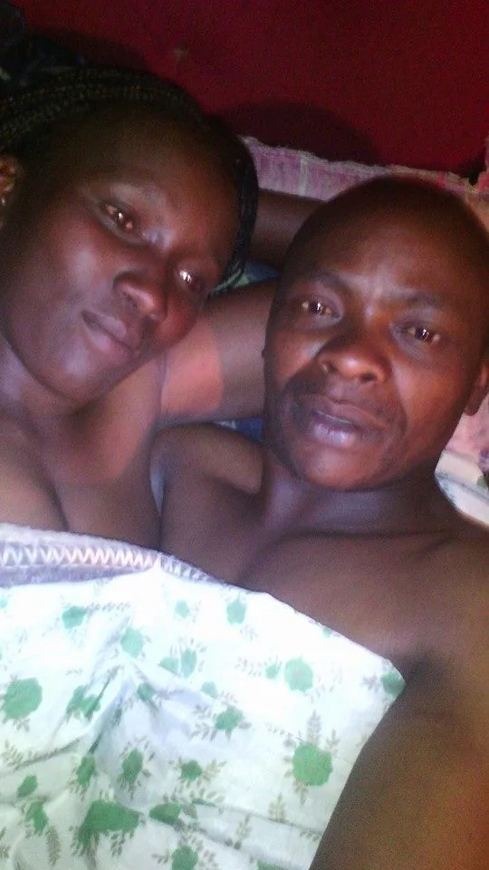 Staunch christian shares a naked photo of himself and his wife in bed