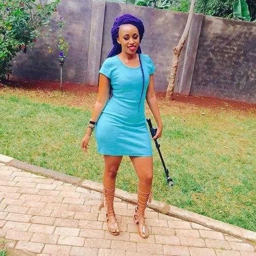 Sexy Nairobi lady announces sex party