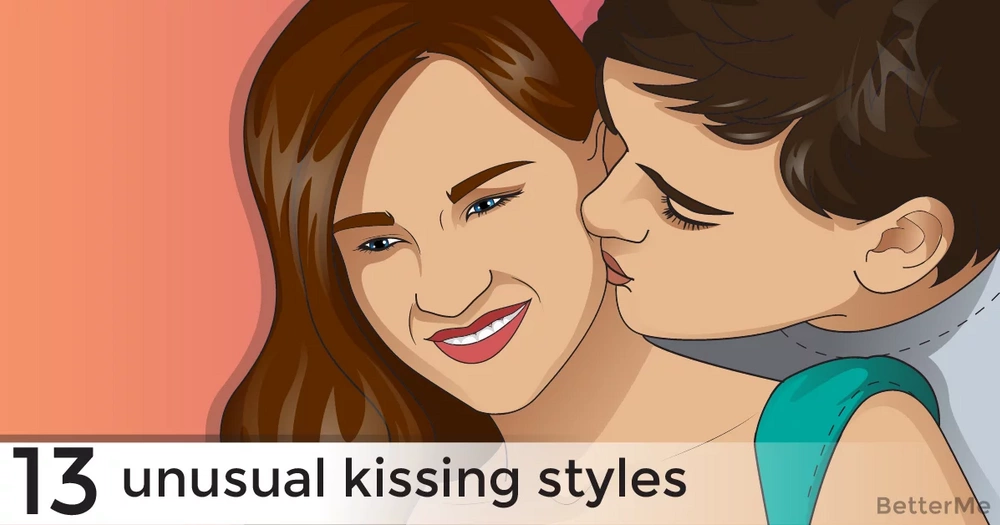 13 unusual kissing styles