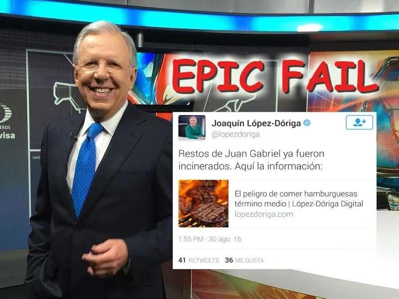 Este fue el epic fail de un periodista mexicano en Twitter