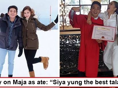 Napakabait niyang ate! Younger siblings of Maja Salvador reveal the other side of 'Ivy Aguas' that she often hides from the camera