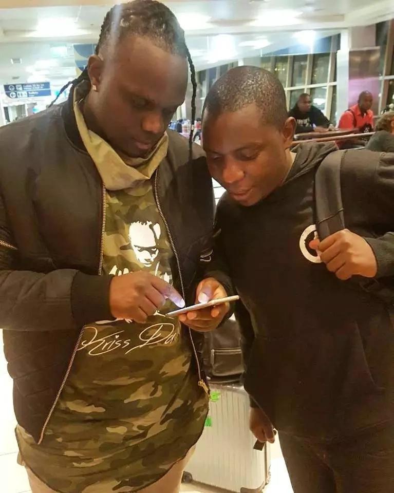 Mshindi wa zawadi NONO ya Sportpesa Samuel Abisai AVAMIA na kutesa Paris