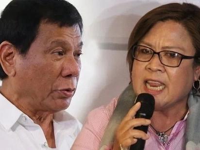 Duterte calls De Lima 'Mutya ng halimaw' after winning international award