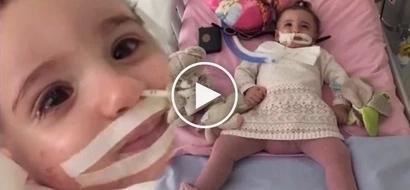 Kapangyarihan ng pananampalataya! Baby wakes up seconds before doctor was about to pull life support