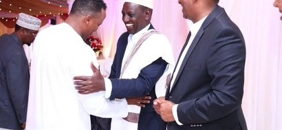 DP William Ruto attends the colourful wedding of Duale