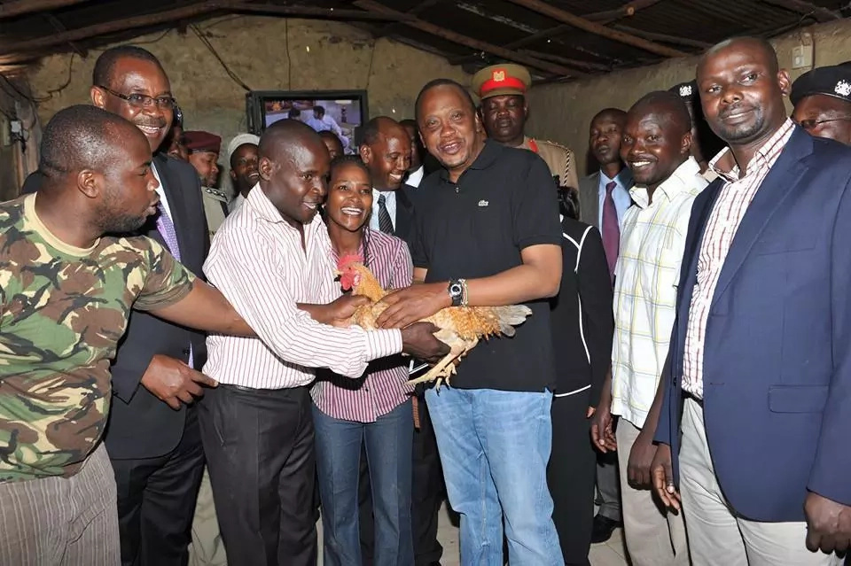 Uhuru Kenyatta's love for blue jeans explained in photos