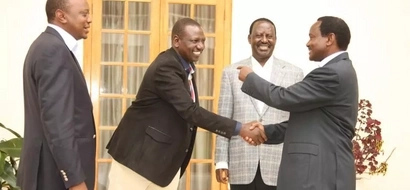 Uhuru, Raila mourn the death of DP Ruto's brother