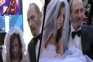 12-year-old girl marries a 65-year-old man. What would you do?