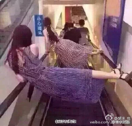 Watch: People in China are afraid of escalators after this horrific accident!