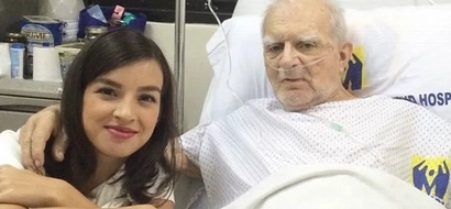 Mapagmahal na anak: Kapamilya star Helga Krapf asks netizens to help fund his ailing dad's medical bills