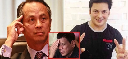 Humanda ka! Pres. Duterte calls Gabby Concepcion 'mukhang pera' and scoffed at veteran actor after confusing him with ABS-CBN head honcho Gabby Lopez