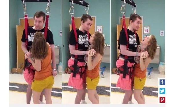 Her Husband Was Paralyzed, But Now They're Finally Dancing... (Video)