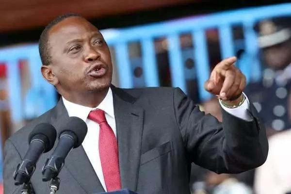 Uhuru Kenyatta shows his might in numbers during Kiambu visit (PHOTOS)