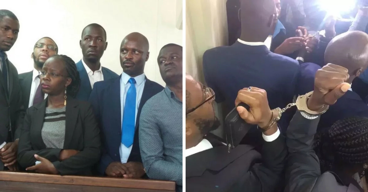 Photos of jailed doctors' spending time in jail