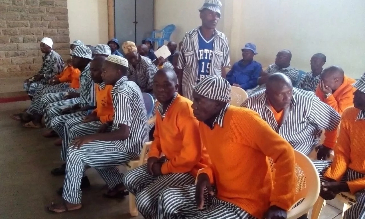 Registration of prisoners as voters kicks off(photos)