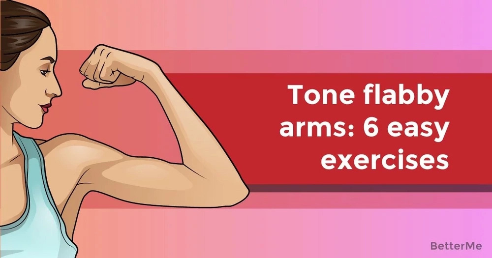 Tone flabby arms: 6 effective moves