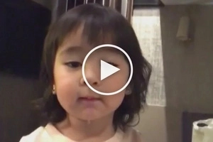 Tulo laway habang kumakanta! Scarlet Snow sings the most adorable version of 'Tomorrow'
