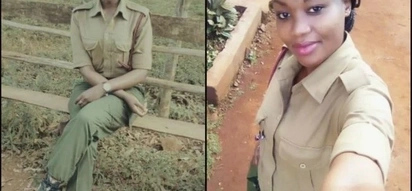 Mrembo huyu ni thibitisho Kenya ina polisi warembo zaidi Afrika (picha)
