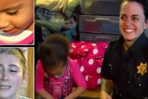 Niña de 2 años llama a la policía cuando no puede ponerse los pantalones