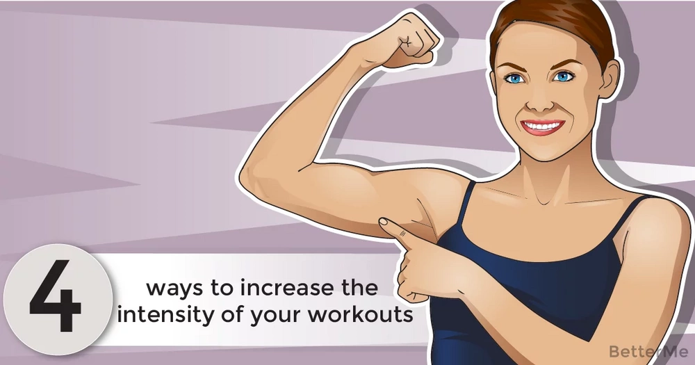 4 ways to increase the intensity of your workouts