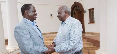 Raila Odinga holds a yet again rare meeting with retired President Mwai Kibaki
