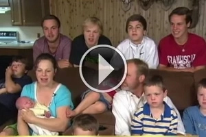 She gave birth to 11 sons and kept the gender of the 12th baby a secret. Guess what it was!
