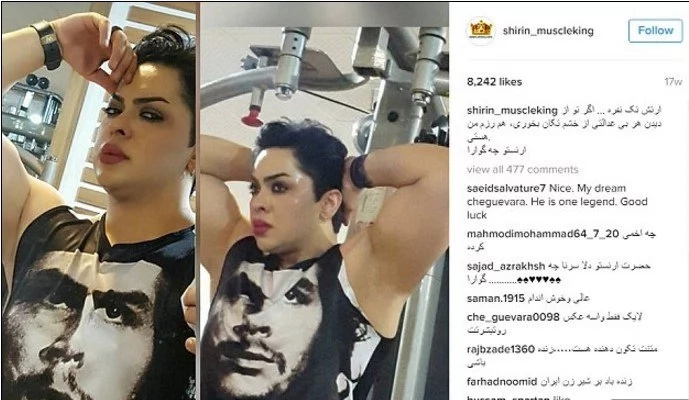 Female bodybuilder jailed for posting UNISLAMIC photos of her workouts (photos)
