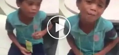 Video of a street kid singing tagalog version of Dance with My Father went viral