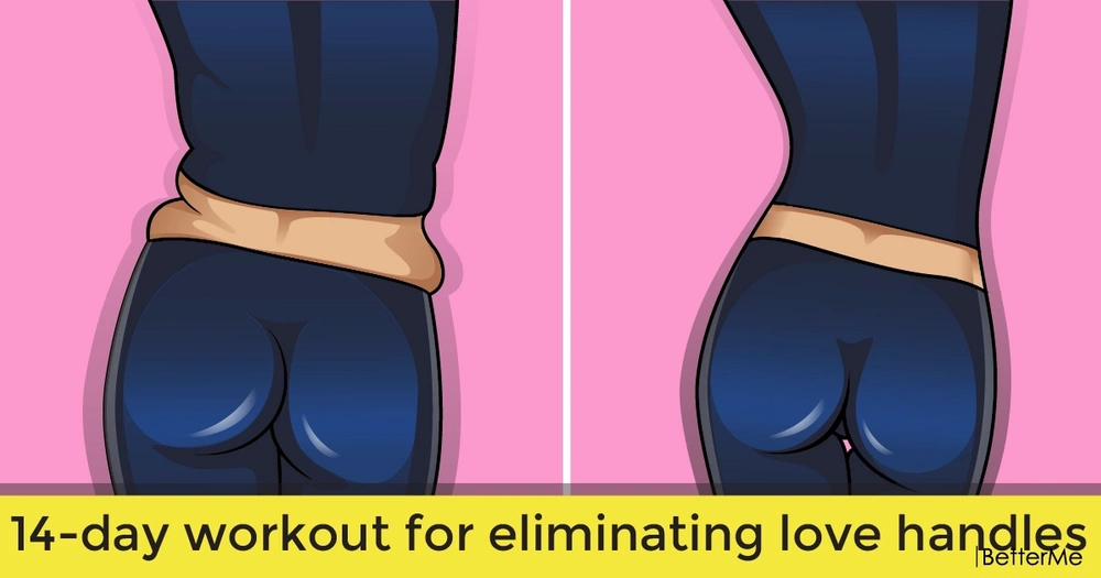 14-day workout for eliminating love handles